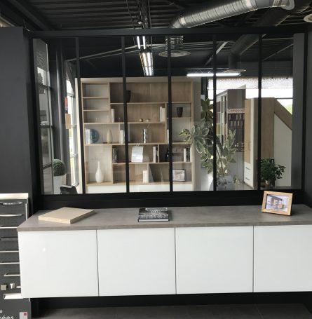 Verrière d\'atelier intérieur sur mesure à Sèvres, Paris et Versailles