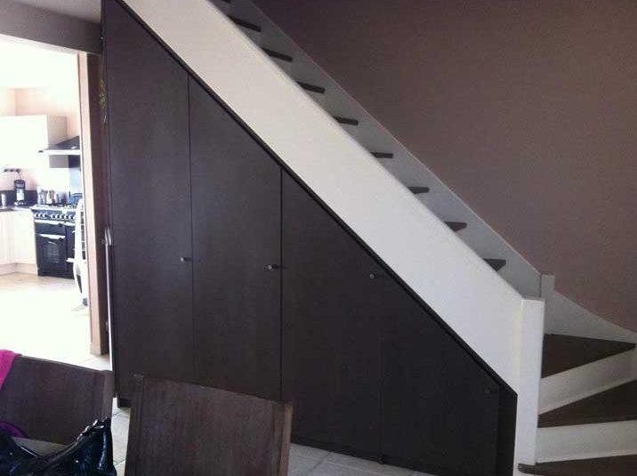 am nagement sous escalier sur mesure s vres paris et versailles. Black Bedroom Furniture Sets. Home Design Ideas